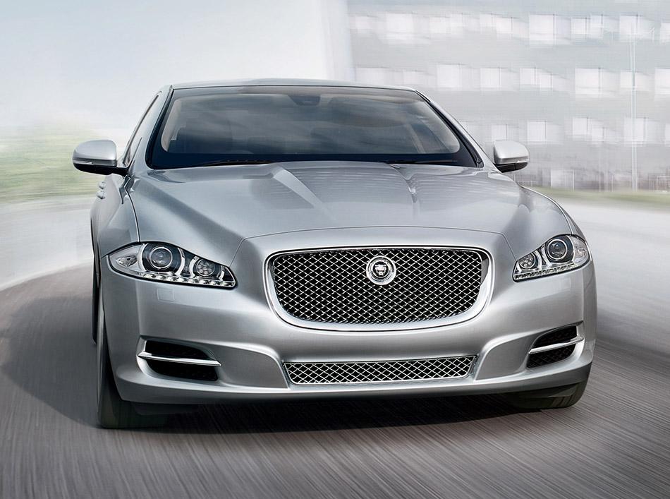 2011 Jaguar XJ Sentinel Front Angle