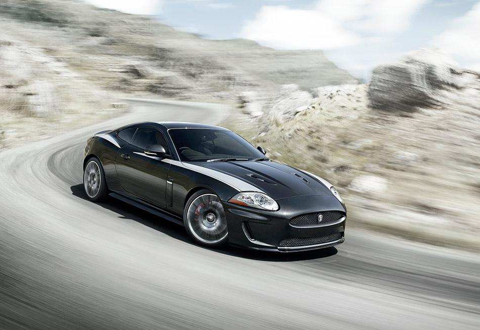 2011 Jaguar XKR Front Angle