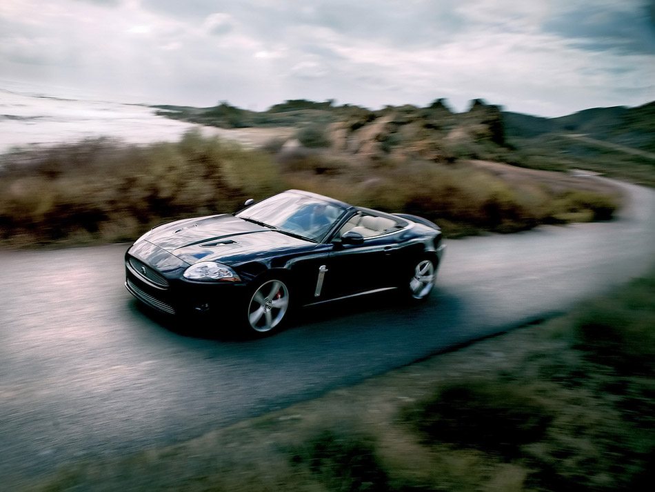 2008 Jaguar XKR Portfolio Front Angle