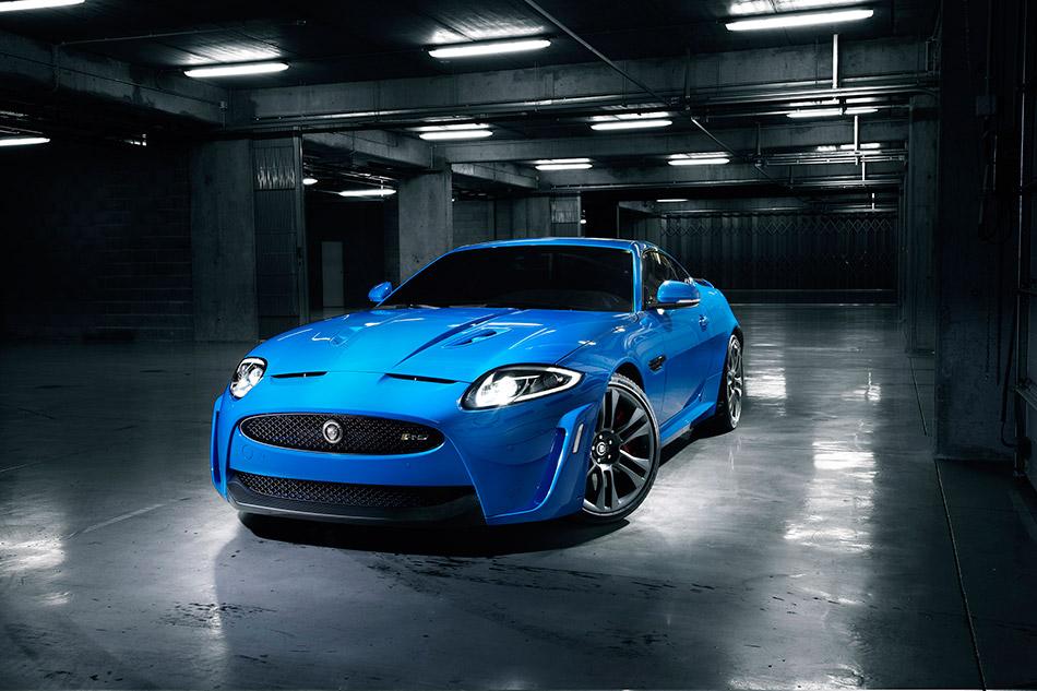 2012 Jaguar XKR-S Front Angle