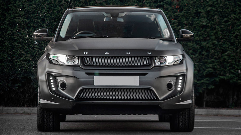 2014 Kahn Range Rover Evoque RS Sport Front Angle