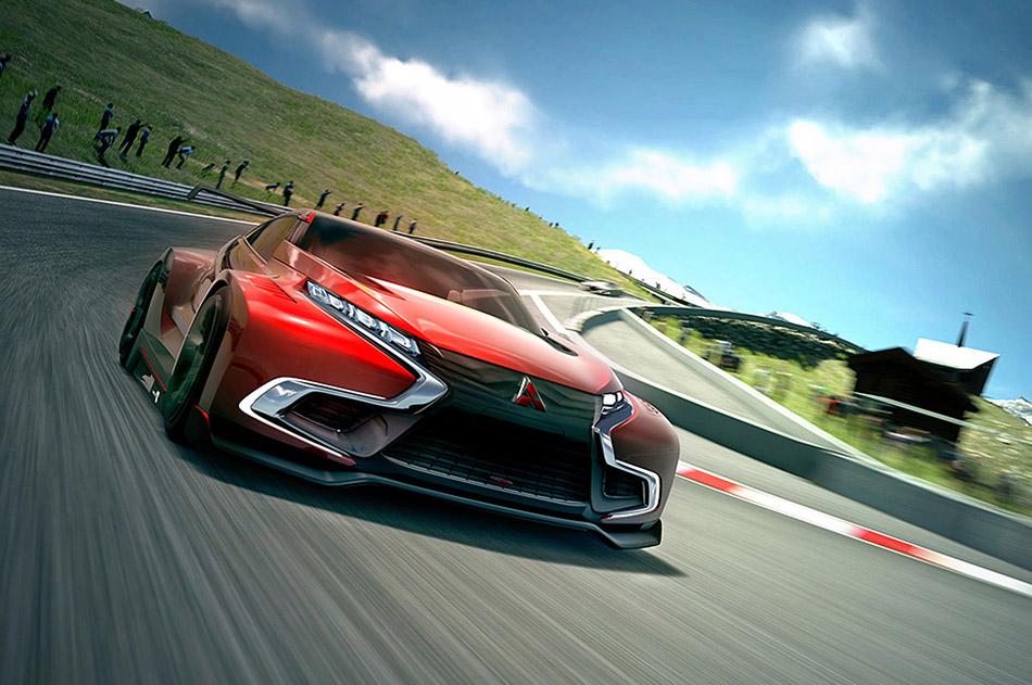 2014 Mitsubishi Concept XR-PHEV Evolution Vision Gran Turismo Front Angle