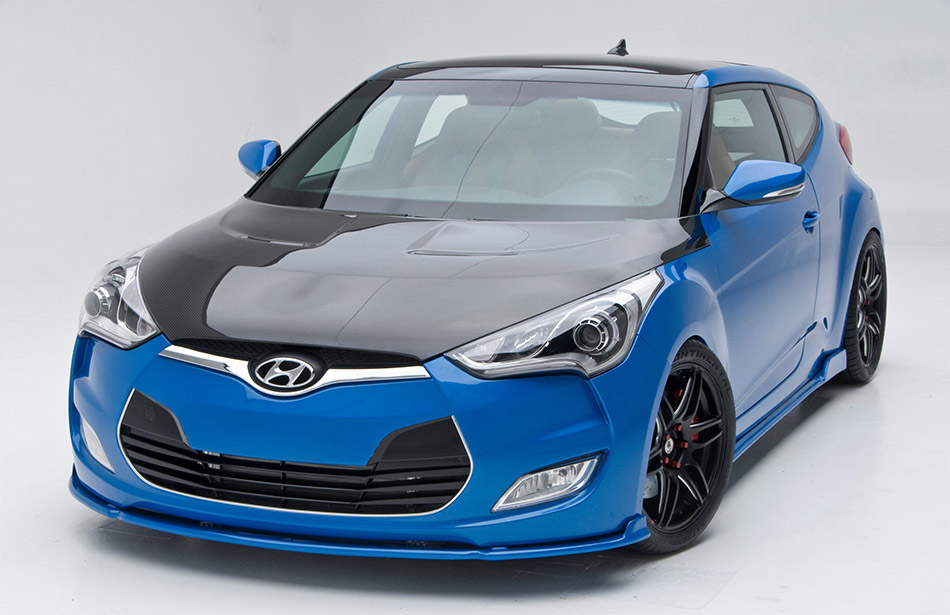 2012 PM Lifestyle Hyundai Veloster Front Angle