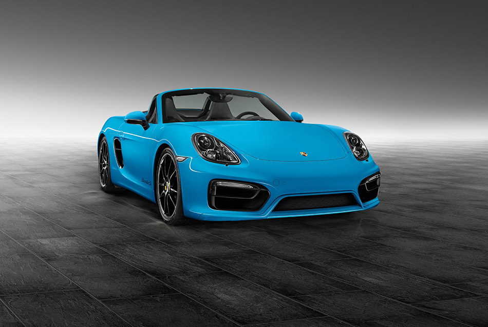 2014 Porsche Exclusive Bespoke Boxster S Front Angle