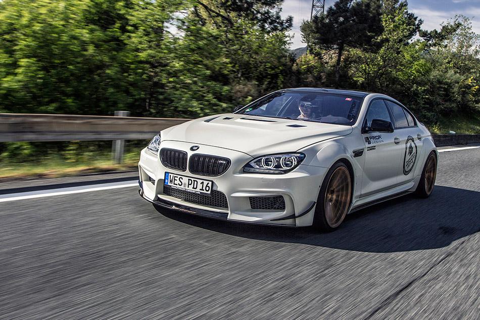 2014 Prior Design BMW M6 GranCoupe Front Angle