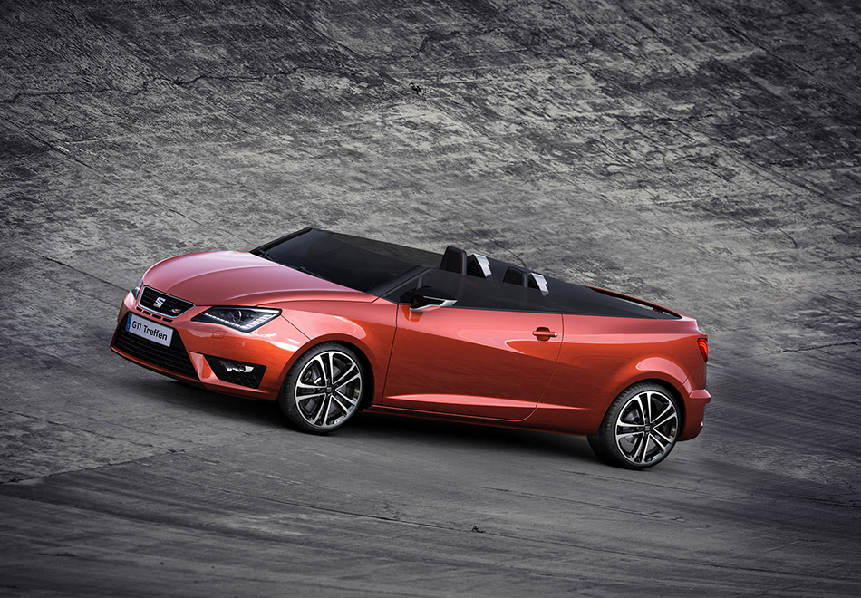 2014 Seat Ibiza Cupster Concept Front Angle