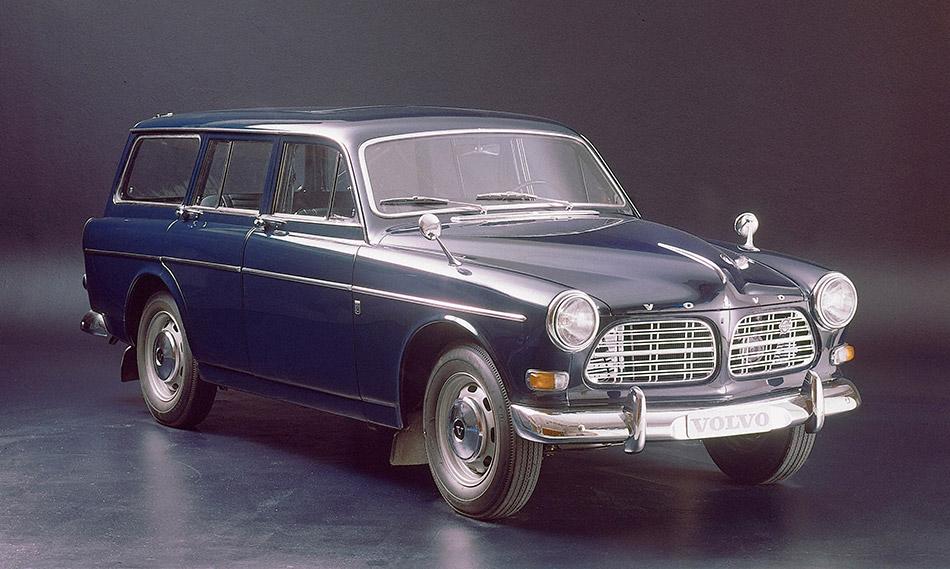 1962 Volvo P220 Amazon Estate Front Angle