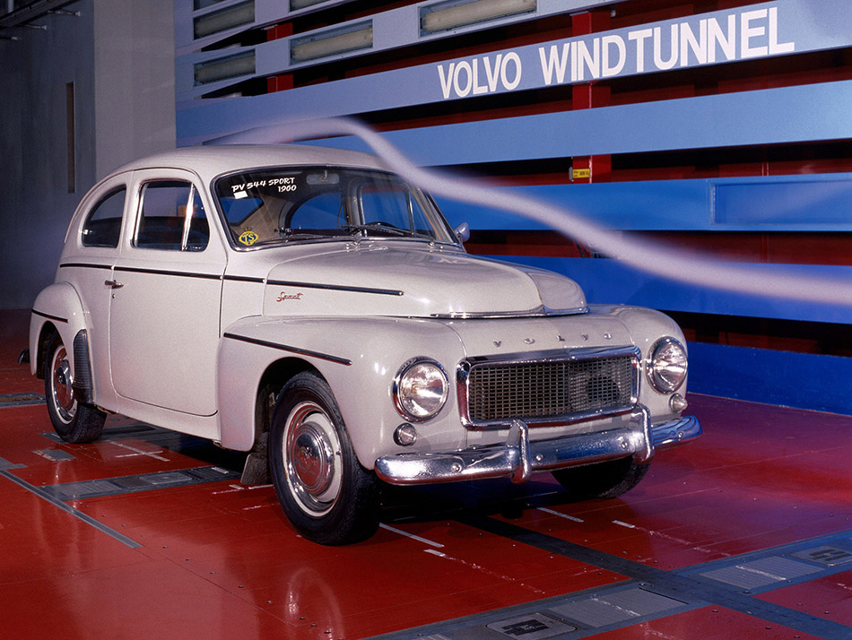 1958 Volvo PV544 Front Angle