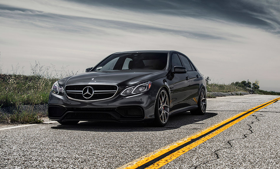 2014 Vorsteiner Mercedes-Benz E63 AMG S 4Matic Front Angle