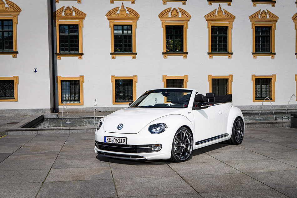2014 ABT Volkswagen Beetle Cabrio Front Angle