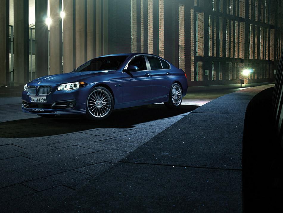 2014 Alpina BMW B5 Bi-Turbo Front Angle