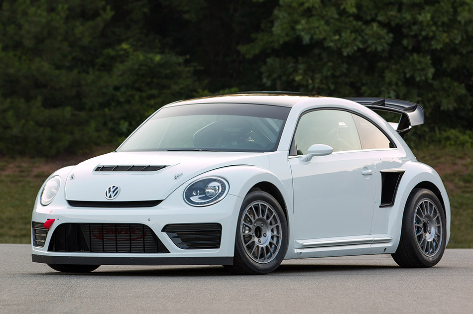 2014 Andretti Rallycross Volkswagen Beetle GRC Front Angle