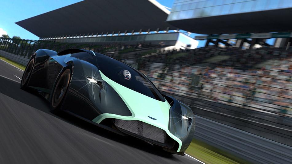 2015 Aston Martin DP-100 Vision Gran Turismo Concept Front Angle