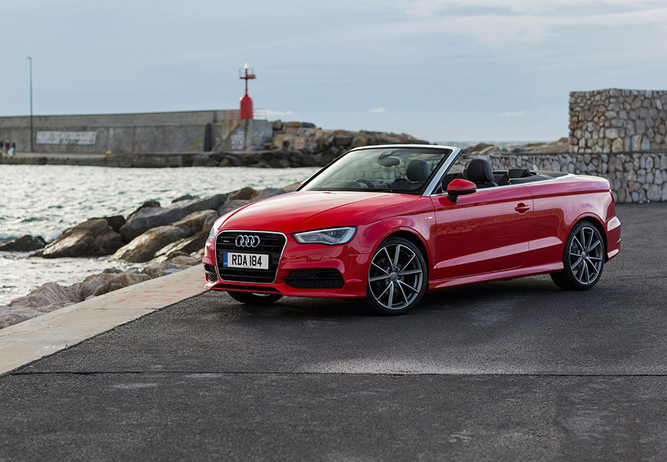 2015 Audi A3 Cabriolet Front Angle