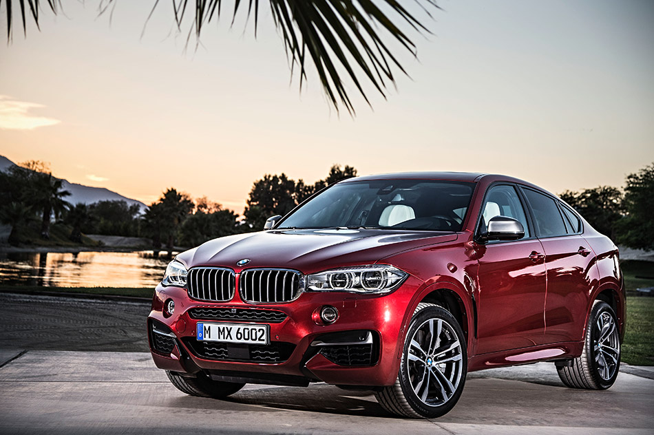 2015 BMW X6 Front Angle