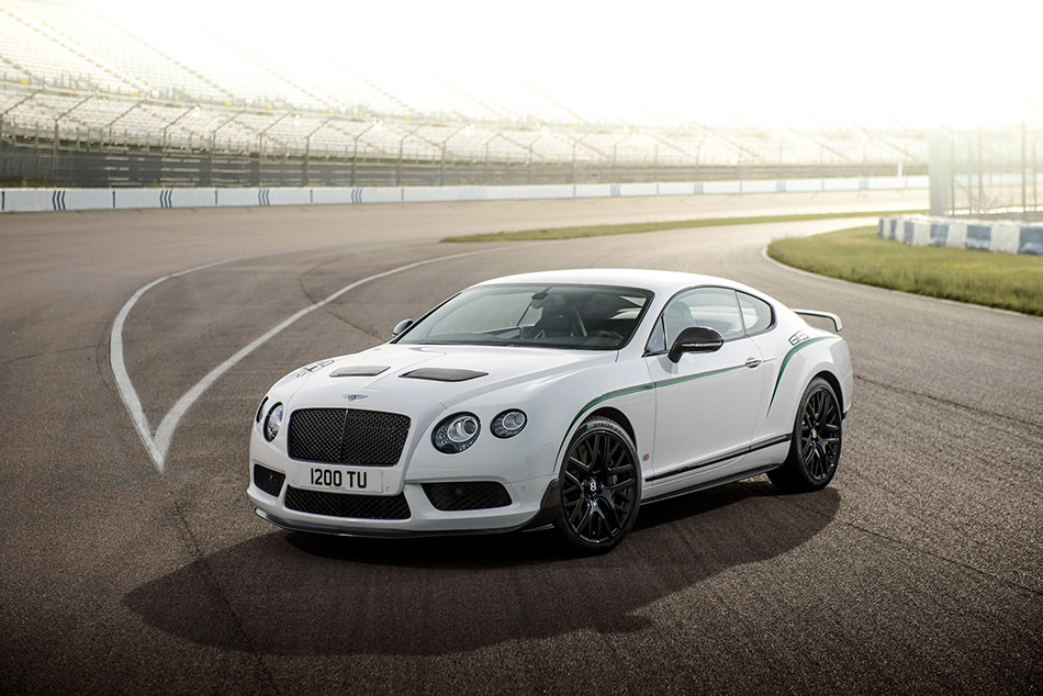 2014 Bentley Continental GT3-R Front Angle