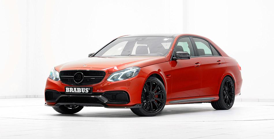 2014 Brabus Mercedes-Benz E 63 850 Biturbo Front Angle