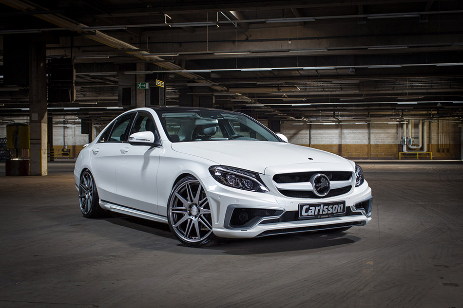2014 Carlsson Mercedes-Benz C-Class Front Angle