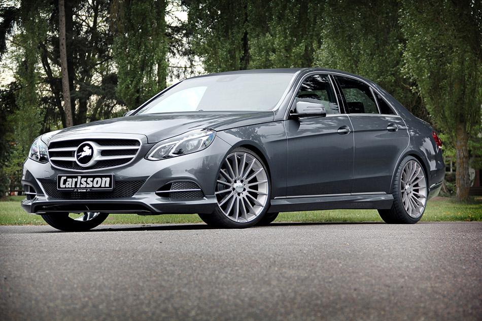 2014 Carlsson Mercedes-Benz E-Class Front Angle