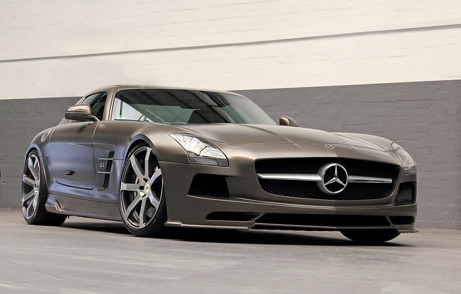 2014 DD Customs Mercedes-Benz SLS AMG Front Angle