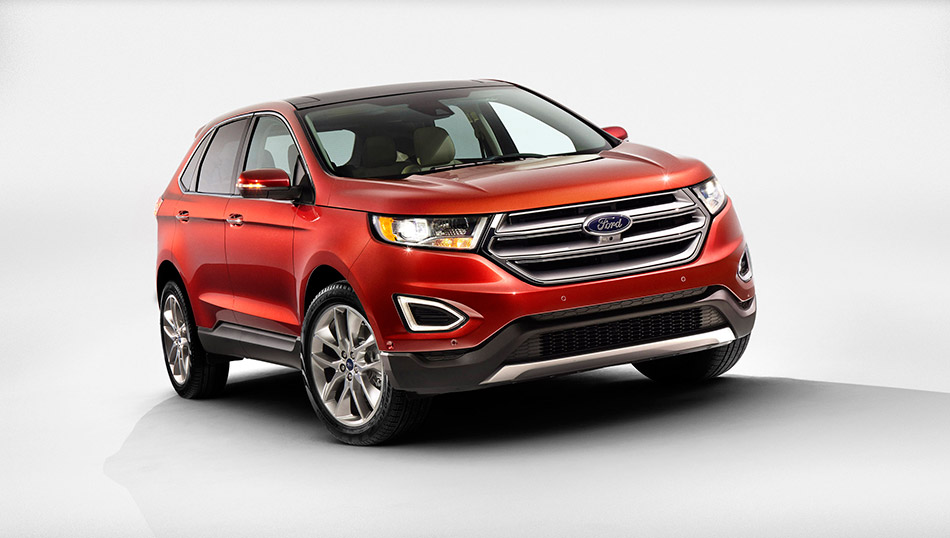 2015 Ford Edge Front Angle