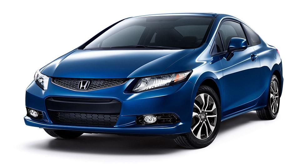 2013 Honda Civic Coupe Front Angle