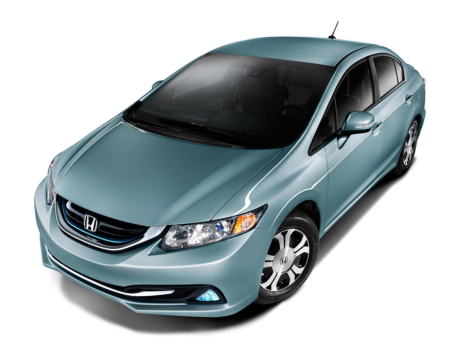 2013 Honda Civic Hybrid Front Angle