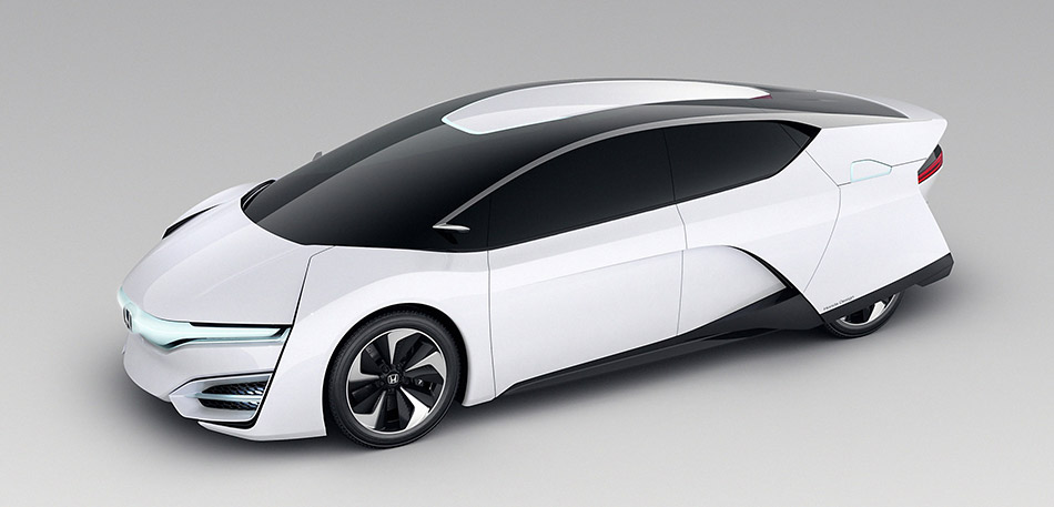 2013 Honda FCEV Concept Front Angle