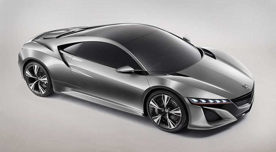 2012 Honda NSX Concept Front Angle