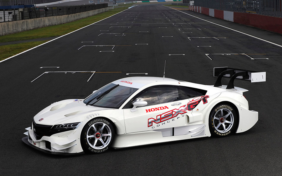 2013 Honda NSX-GT Concept Front Angle