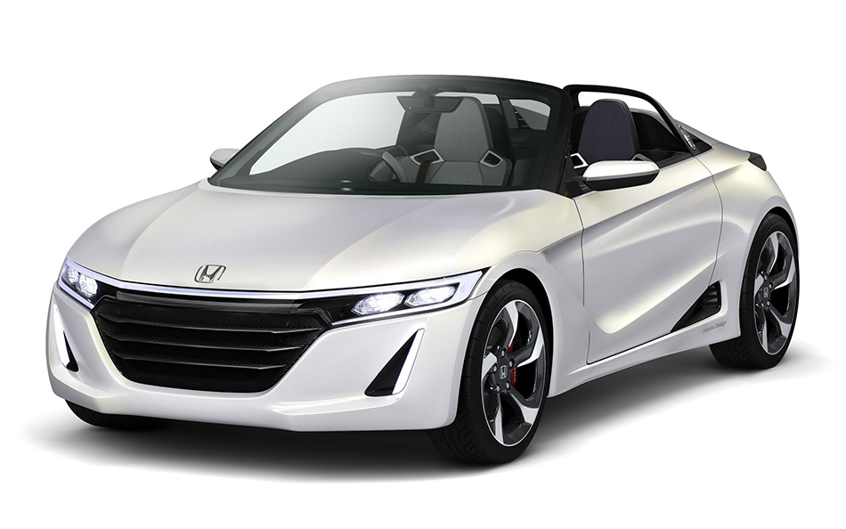 2013 Honda S660 Concept Front Angle