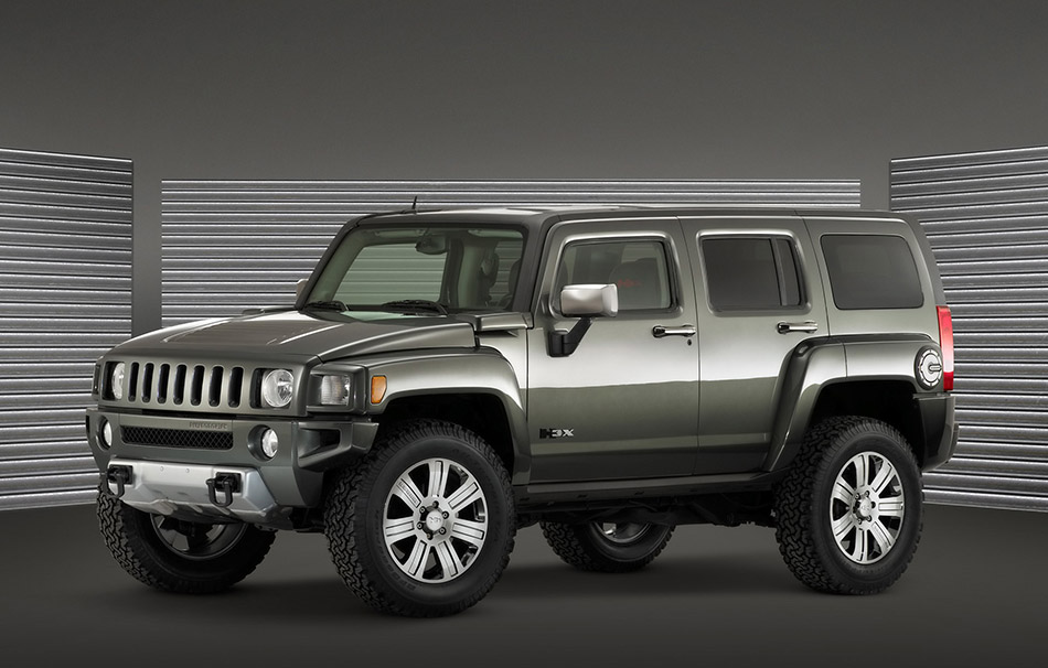 2008 Hummer H3 X Concept Front Angle