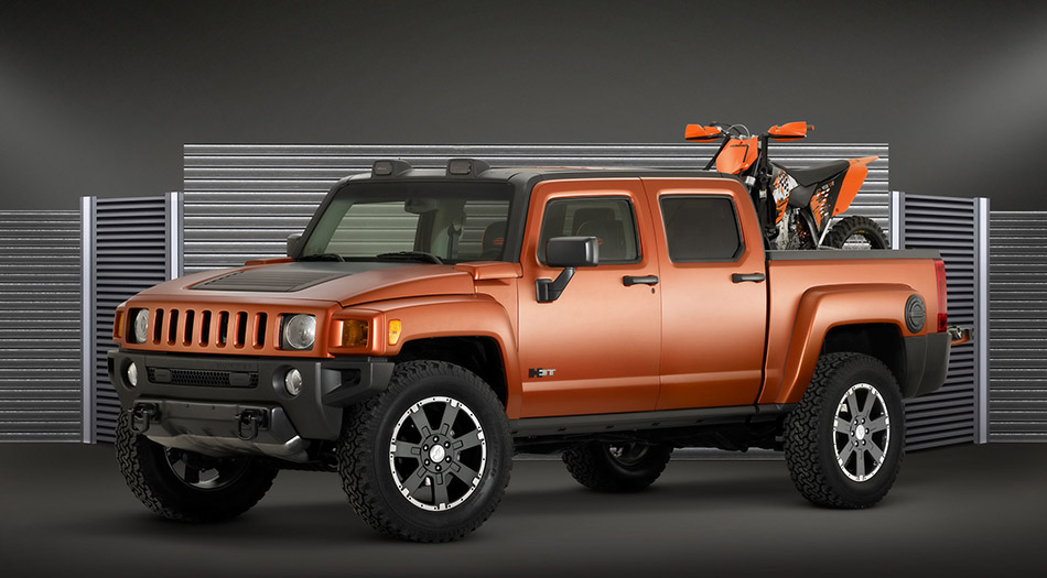 2008 Hummer H3T Weekend Warrior Front Angle