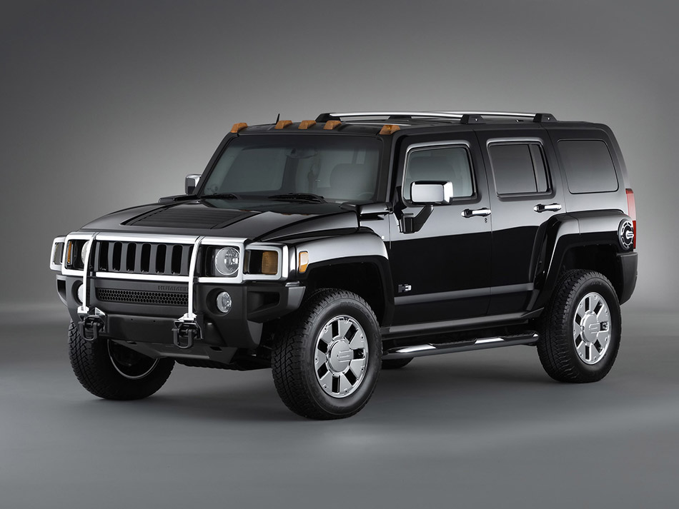 2007 Hummer H3X Front Angle
