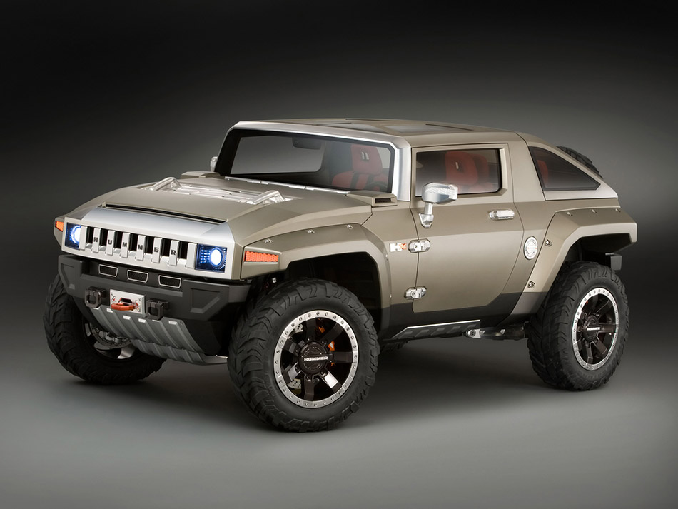 2008 Hummer HX Concept Front Angle