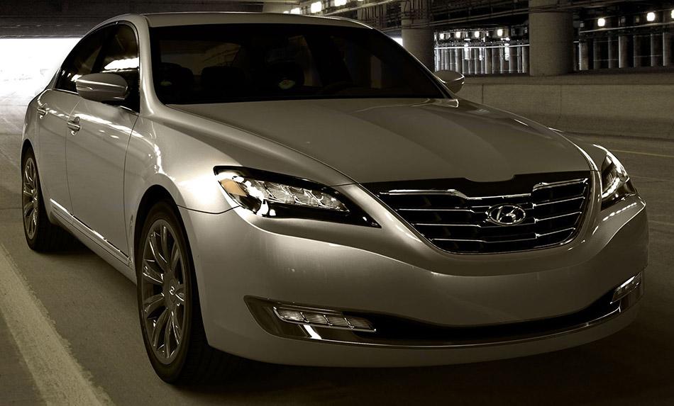 2007 Hyundai Genesis Concept Front Angle