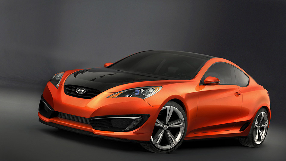 2007 Hyundai Genesis Coupe Concept Front Angle