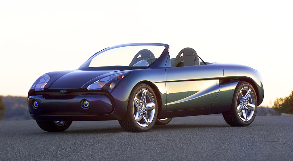 2001 Hyundai HCD-6 Concept Front Angle