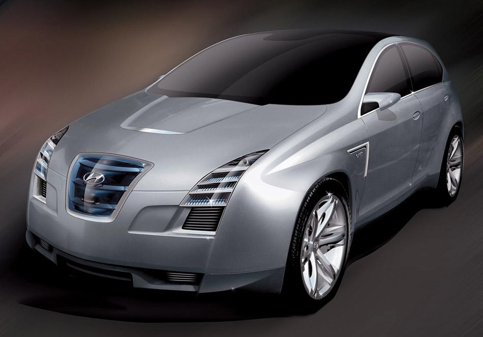 2006 Hyundai Neos 3 Concept Front Angle