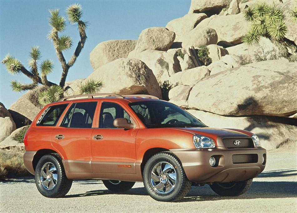 1999 Hyundai Santa Fe Concept Front Angle
