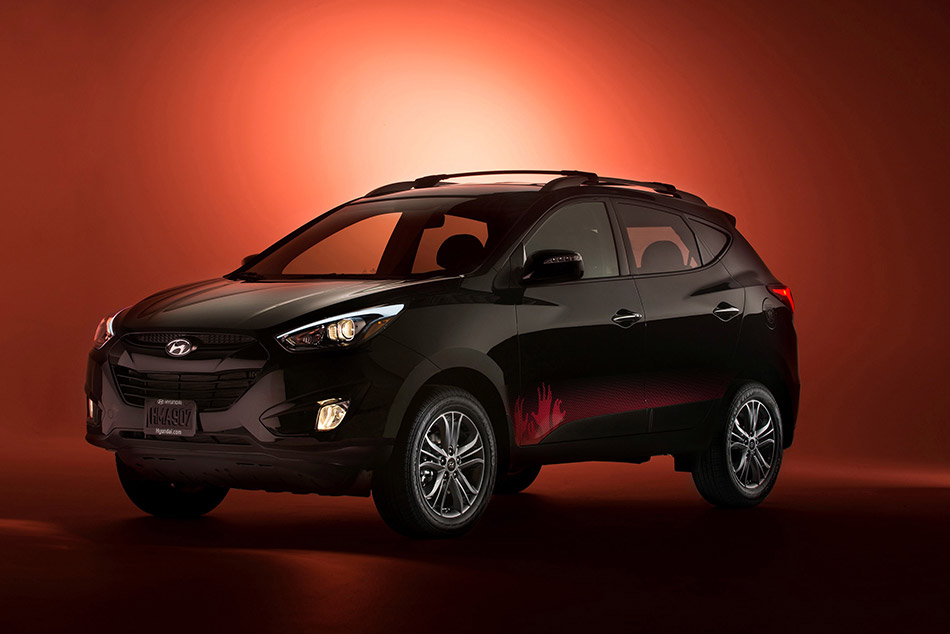 2014 Hyundai Tucson The Walking Dead Special Edition Front Angle