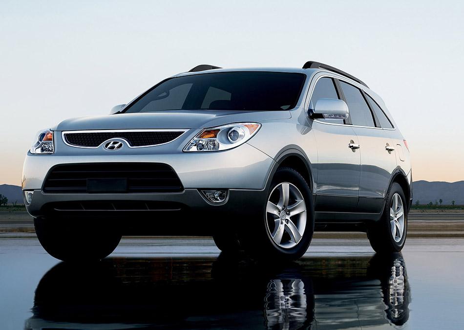 2007 Hyundai Veracruz Front Angle