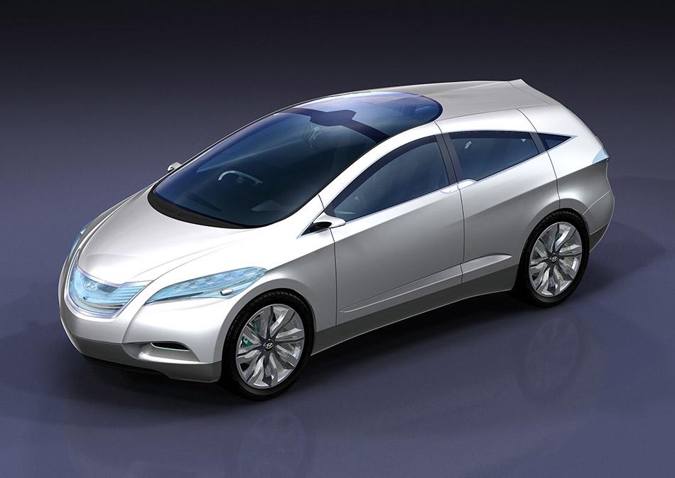 2007 Hyundai i-Blue Concept Front Angle