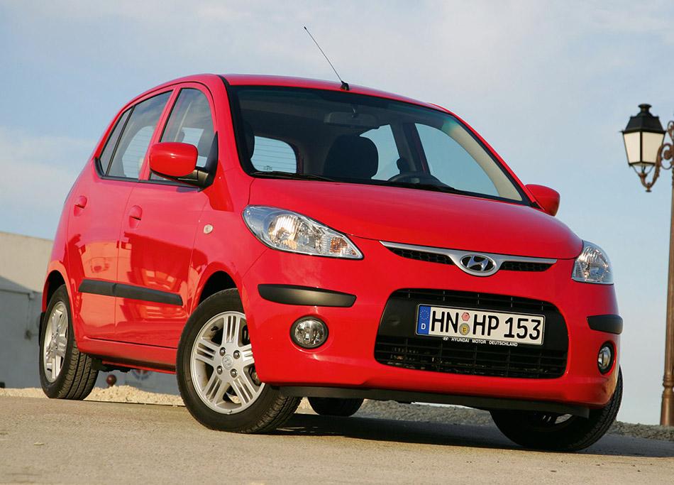 2008 Hyundai i10 Front Angle