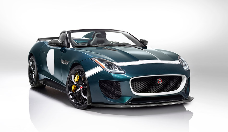 2015 Jaguar F-Type Project 7 Front Angle