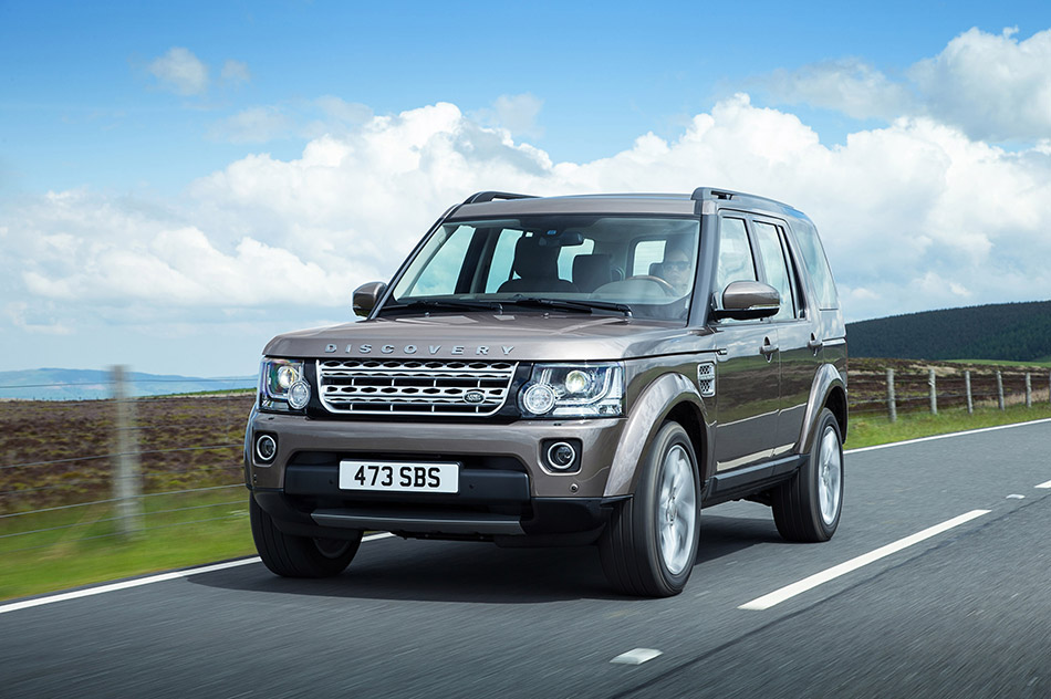 2015 Land Rover Discovery Front Angle