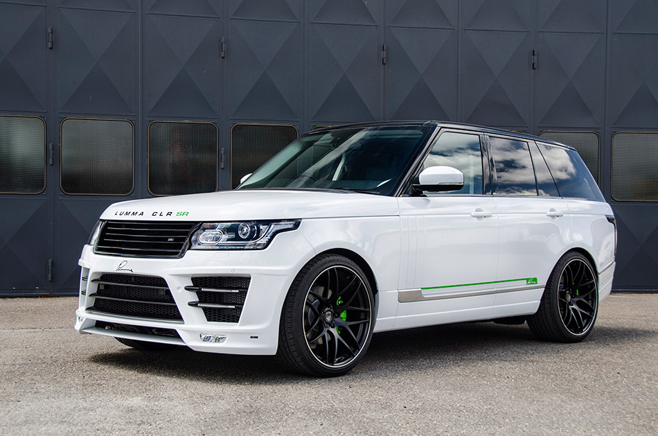 2014 Lumma Design Range Rover Vogue CLR SR Front Angle