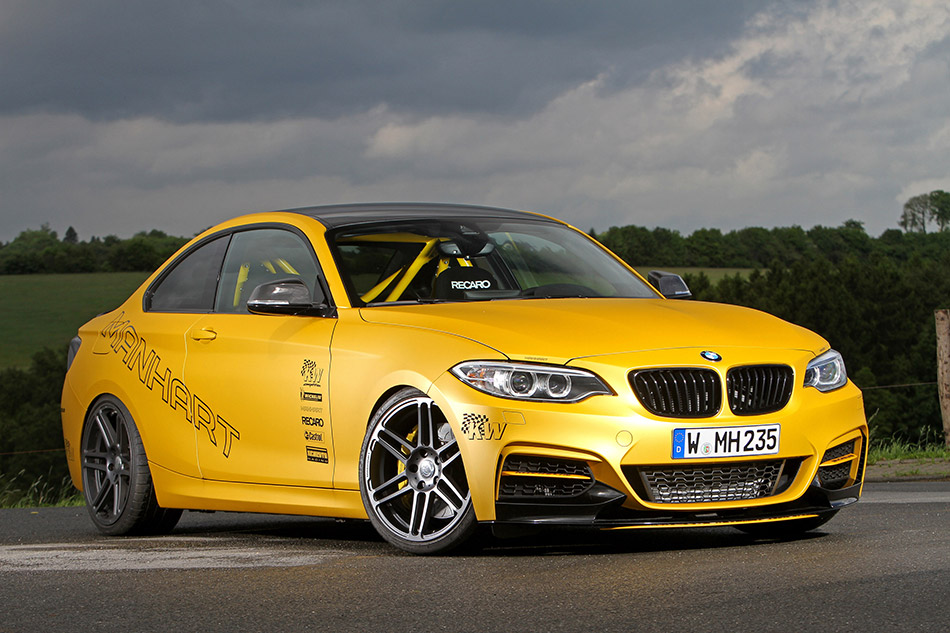 2014 Manhart BMW M235i Coupe MH2 Clubsport Front Angle