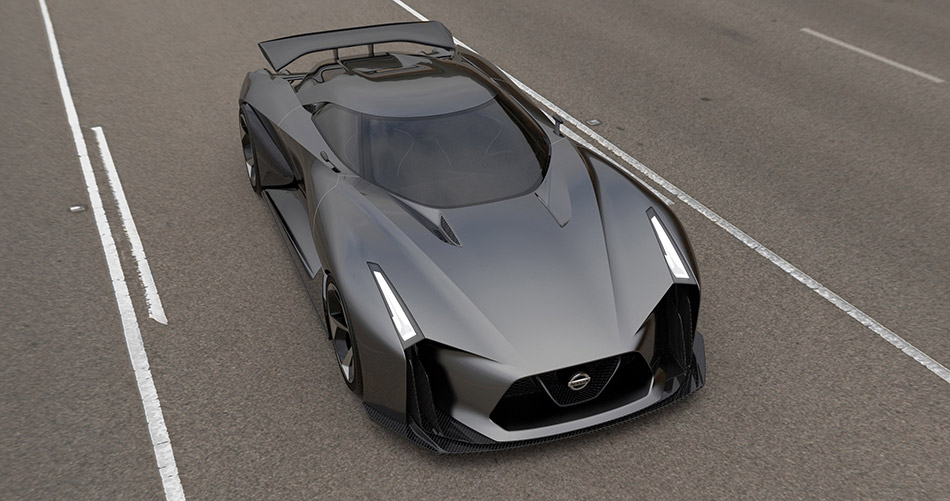 2014 Nissan 2020 Vision Gran Turismo Concept Front Angle