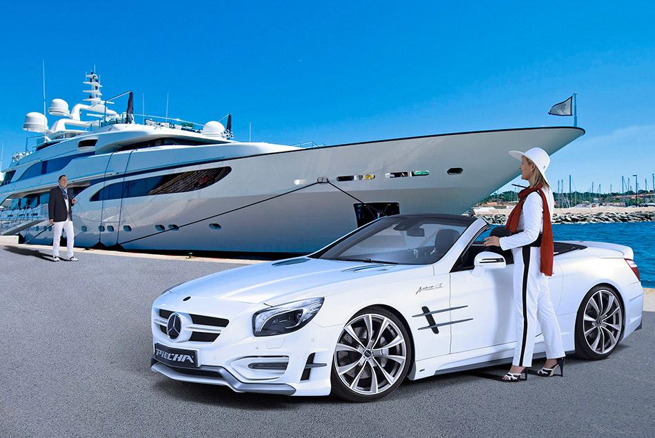 2014 Piecha Design Mercedes-Benz SL R231 Avalange GT-R Front Angle